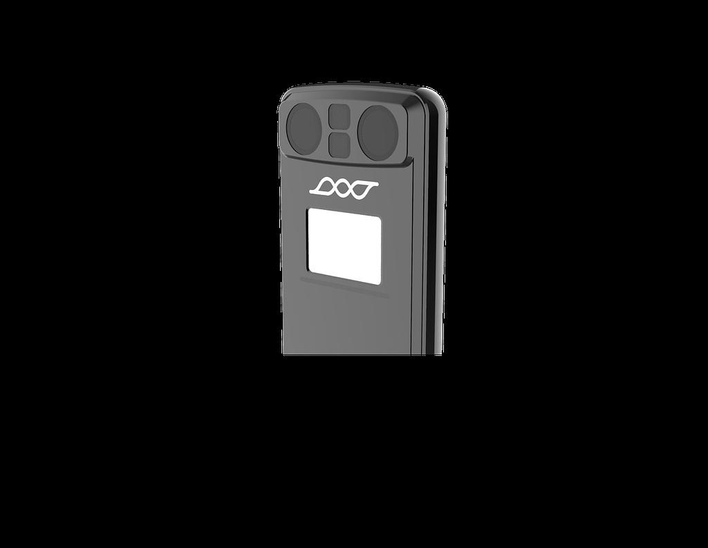 Die Rückseite des Scoobe3D 3d scanners
