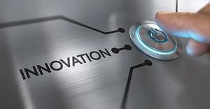 Ein Schalter mit der Aufschrift Innovation