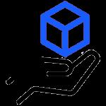 Icon für das erhalten des 3D Modells und den Download