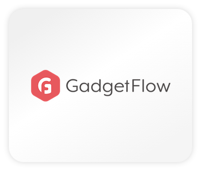 Das Logo der Webseite Gadget Flow