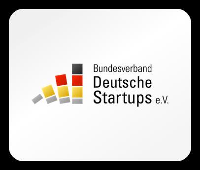 Das Logo des Logo Bundesverband Deutsche Startu e.V.