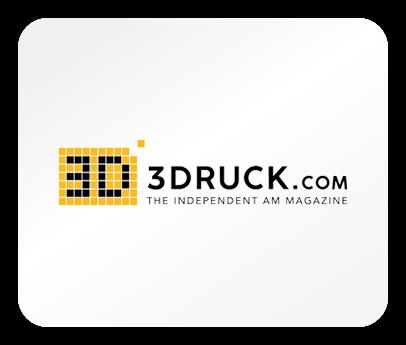 Das Logo des Magazins 3Druck.com