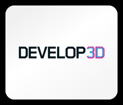 Das Logo des Magazins Develop3d