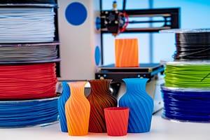 Bild 3D-Druck Materialien