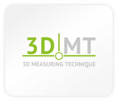 Das Logo der Firma 3D MT - 3D Measuring Technique