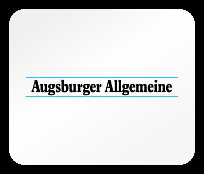 Das Logo der Tageszeitung Augsburger Allgemeine