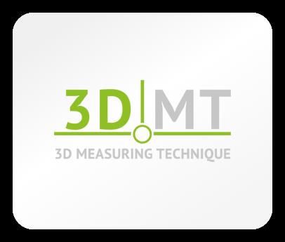 Das Logo der Firma 3D MT - 3D Measuring Technique