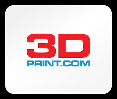 Das Logo der Webseite 3Dprint.com