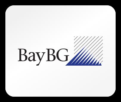 Das Logo des Venture Kapitalgebers BayBG
