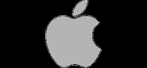Logo von unserem Kunden und Partner Apple